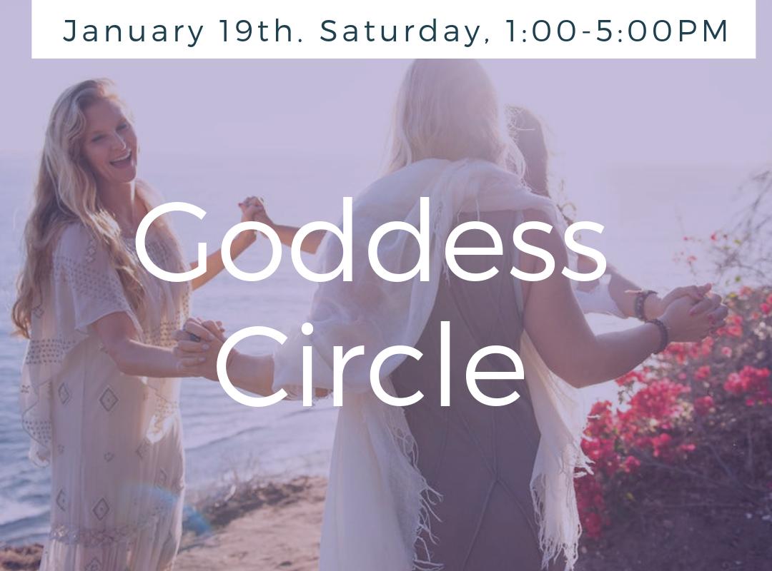 Goddess Circle, January 19th, 2018