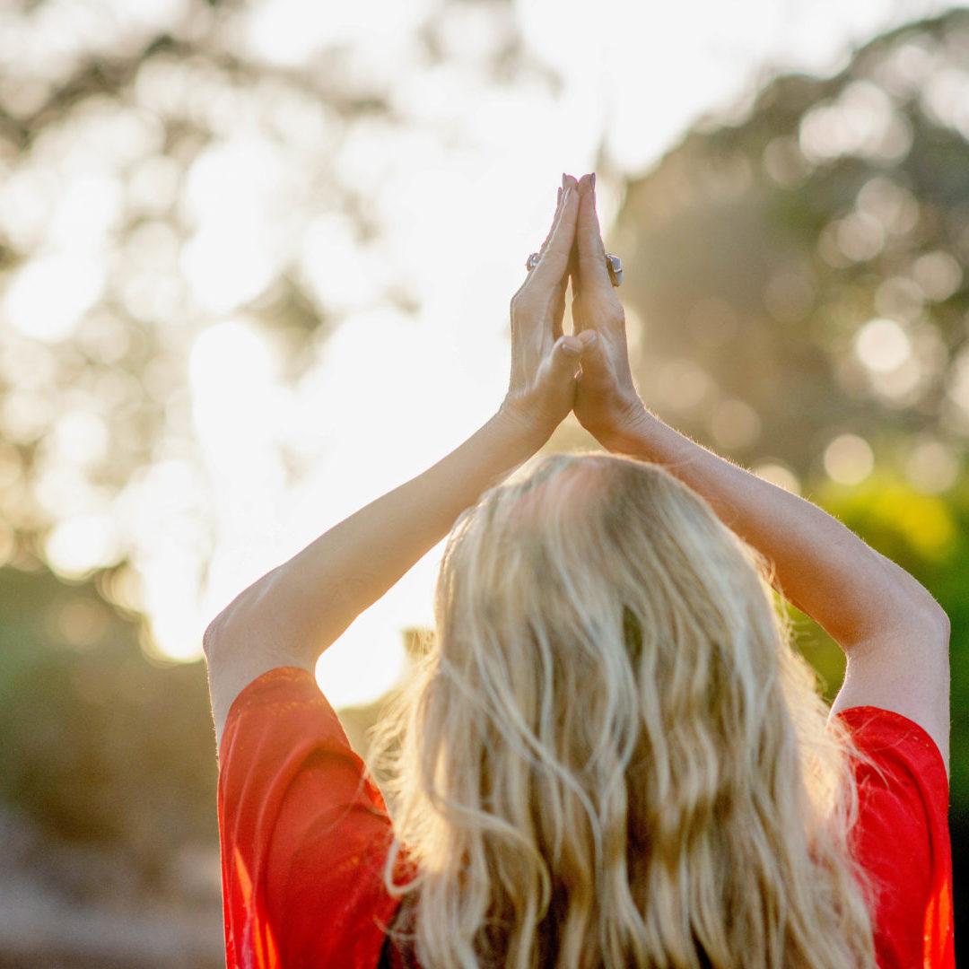 Ragan Thomson Praying Goddess and Spiritual Healer