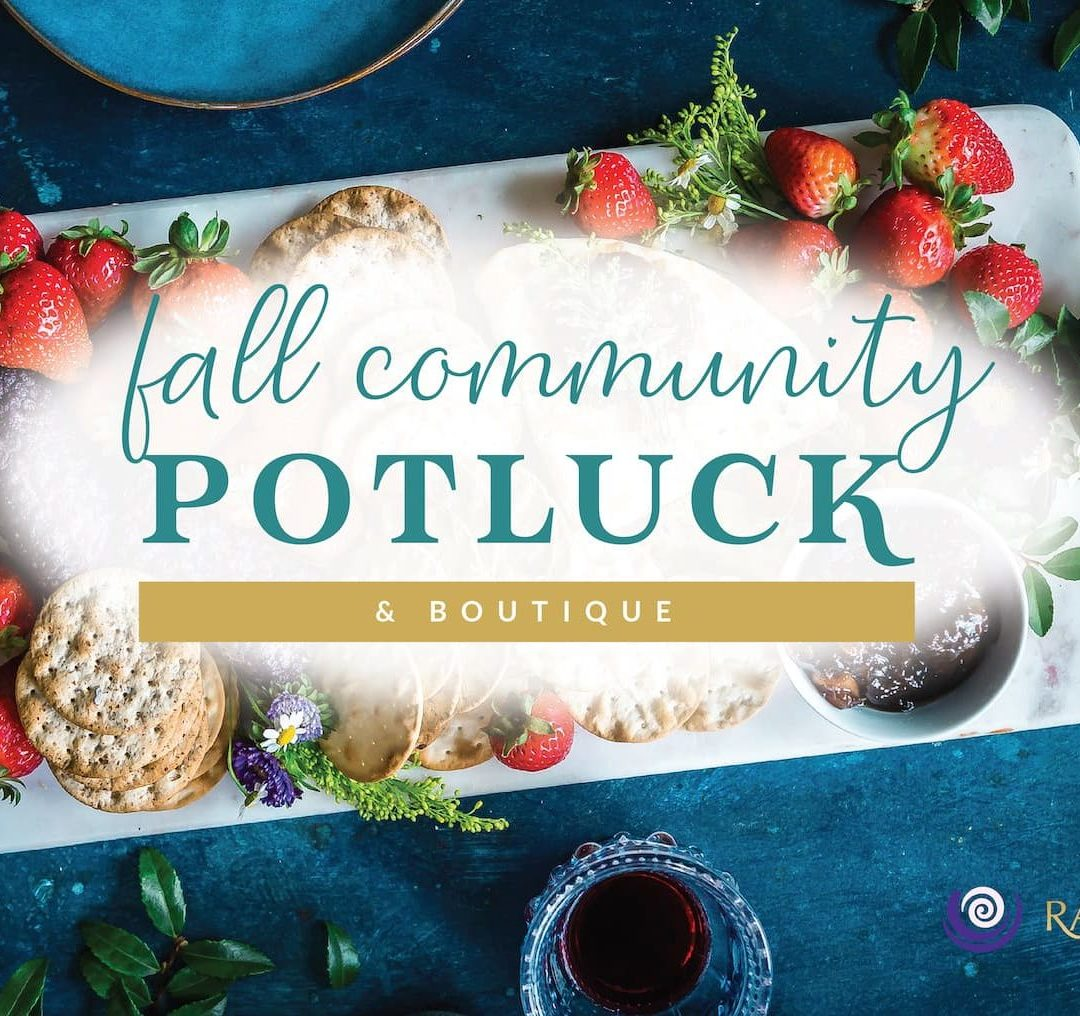 Fall Community Potluck & Boutique